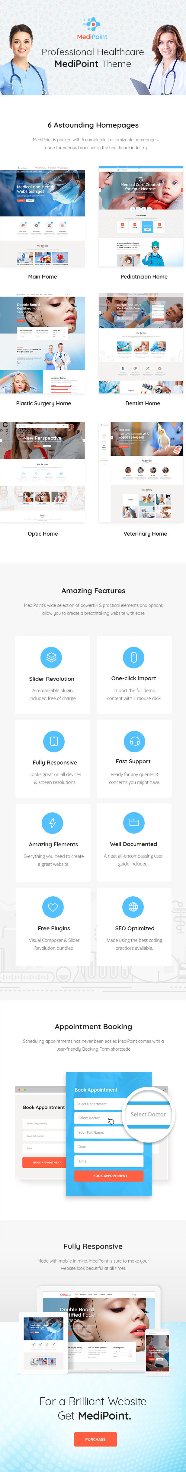 MediPoint - A Modern Medical and Health Care Theme